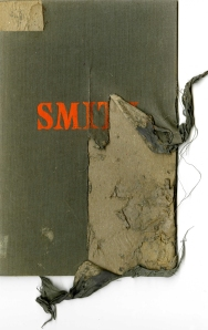 Dog-chewed book cover