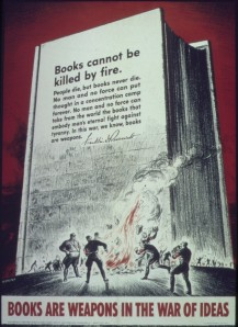 World War II US propaganda poster